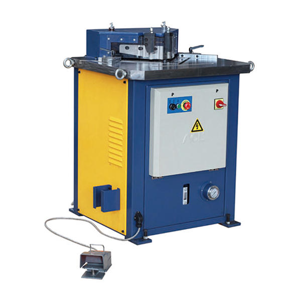 FIXED HYDRAULIC NOTCHING MACHINE